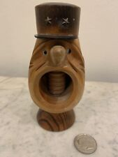 A Wooden Nutcracker, Of A French Military Man Shouting