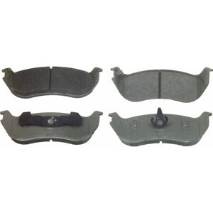 Disc Brake Pad Set-ThermoQuiet Disc Brake Pad Rear Wagner MX881