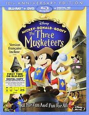 MICKEY DONALD GOOFY :THE THREE MUSKETEERS (DISNEY)    Blu Ray - Region free