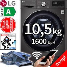 LG 10,5 kg Direktantrieb Waschmaschine 1600 UpM Frontlader WiFi Dampf Funktion