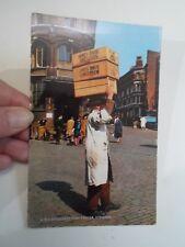 Retro PC LONDON, A Billingsgate Fish Porter+Hines Bros Boxes Franked 1968 §A2488