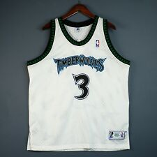 100% Authentic Stephon Marbury Vintage Starter Timberwolves Jersey Size 48 XL