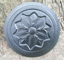 Gostatue Mold flower stepping stone concrete plaster mold abs plastic mould