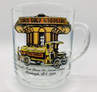 Good Gulf Gasoline World First DriveIn Service Station Collectible Coffee Mug