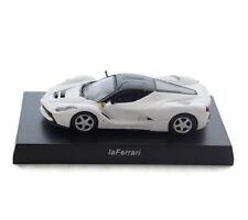 kyosho 1/64 Scale Ferrari Car Model Metal White LaFerrari Vehicles Toys Kids