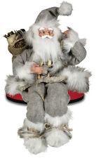 Weihnachtsmann Birko Kantenhocker Deko Figur Weihnachten & Advent Nikolaus 30cm