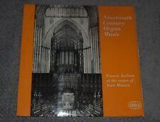 Nineteenth Century Organ Music~Francis Jackson At The Organ of York Minster