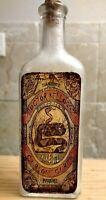 Vintage Medicine Hand Crafted Bottle, Snake Oil, Dr. Kelloggz (Copy)