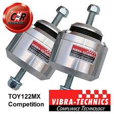 Fits 2 x Supra 7M GTE 88-93 Vibra Technics Engine Mounts Race TOY122MX