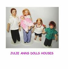 1 12 Scale Modern Family People Dolls House Accessory Nursery Miniature