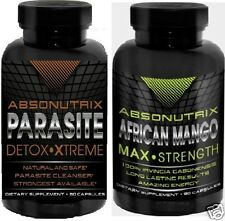 Absonutrix African Mango Max +Absonutrix Parasite Detox Body Cleanse