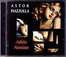 Astor PIAZZOLLA: ADIÓS NONINO Verano Porteno Biyuya Libertango Lunfardo CD Adios