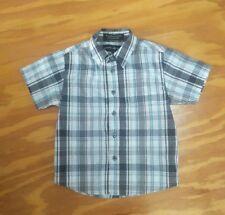 Beverly Hills Polo Club boys check shirt size 6 EUC