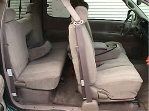 2000 2001 2002 2003 2004 Toyota Tundra Access Cab, 40/60 Front Seat Covers Taupe