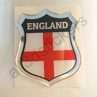 Sticker England Emblem 3D Resin Domed Gel England Flag Vinyl Decal Car Laptop