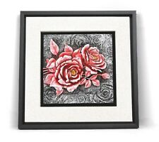 Wall frame flowers   / Resin / Home decorative