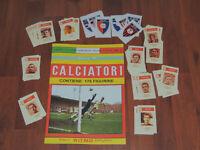 RITMO CALTAGIRONE ALBUM CALCIATORI 1969-70+SET FIGURINE COMPLETO,ANASTATICO