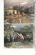 Putter's Park Indoor Miniature Golf Soo Canada Chrome Postcard 2207