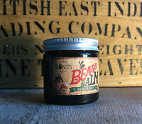 BOBOS BEARD COMPANY BERGAMOT BEARD BALM + FREE BOTTLE OF BOBOS BEARD BOMB OIL