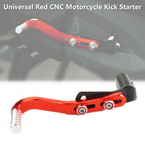 Motorcycle Kick Starter Lever Pedal Gear Lever Aluminum Alloy Adjustment Angle