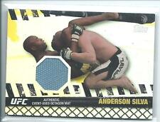 2010 Topps UFC Anderson Spider Silva Fight Used Mat Relic 15/188 MMA