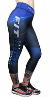 New Womens Compression Tights Base Layers Pants Training Running Sports Trousers