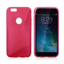 Apple Glossy Silicone/Gel/Rubber Mobile Phone Cases/Covers