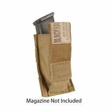Blackhawk! Single Pistol Mag Pouch 37Cl08Ct W/Talon Flex- Coyote Tan