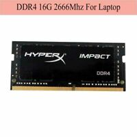 Pour Kingston HyperX Impact 16 Go 32 Go 64 Go 2666 MHz DDR4 PC4-21300 Laptop RAM
