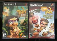 Tak Power of Juju & Guardians of Gross, PS2 (Playstation 2) CIB, Complete Tested