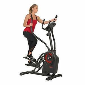 Sunny Health & Fitness Premium Cardio Climber Stepping Elliptical Machine -