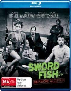 SWORD FISH BLU RAY REGION B AUSTRALIAN LIKE NEW