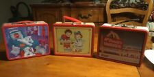 1998 MCDONALDS COCA COLA & CAMPBELL's MINI METAL LUNCH BOXES (Lot of 3)