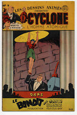 Cyclone L'Homme atomique n°9 1947 TBE