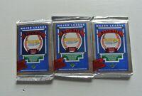 3 Pack Lot 1989 UPPER DECK Baseball FOIL HiGH # Factory Sealed Packs GRIFFEY JR