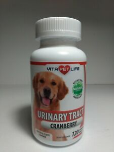 Vita Pet Life Cranberry for Dogs - Urinary Tract Support, Exp.02/23