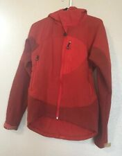 Patagonia Mens Ski Coat Hooded Red Orange Small