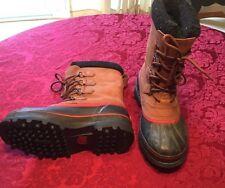 Sorel Boots Caribou Boots Men's SZ 9 Duck Boots Winter Boots Waterproof