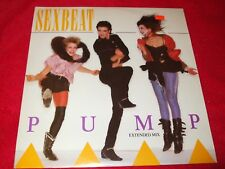 "SEXBEAT ~ PUMP 12""  MINT/ NEVER PLAYED / VERY  RARE / IMPORT"