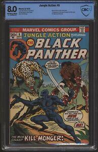 Jungle Action #6  CBCS 8.0 like CGC. 1st Appearance Killmonger Black Panther