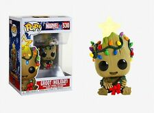 Funko Pop Marvel: Groot (Holiday) Vinyl Bobble-Head #43333