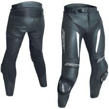 Pantalones blancos de rodilla para motoristas, para hombre