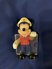 Disney Mickey Photo Holder (photo is 2 X 2) Magnet (from Dcl), Pre-owned