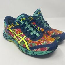 Asics Womens Gel-Noosa TRI 11 Running Shoes Green T676N Low Top Lace Up Mesh 8 M