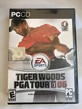 Tiger Woods Pga Tour 06 Ea Sports Pc Cd-Rom 3 Disc Game New Other Sealed