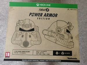 Fallout 76 Power Armour Collector's Edition XBOX - Helmet, map, figures & bag
