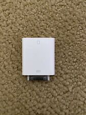 30 pin iPhone iPad SD card reader Genuine Apple Model A1362 - Working.