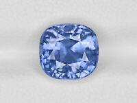 Blue Sapphire Rock Crystal Doublet Cabochon-Sapphire Doublet-Natural Blue Sapphire Crystal Smooth Cushion Cabochon-15.5x15.5x9.5 MM-BS16874
