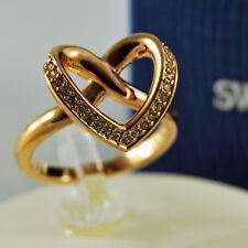 swarovski originale anello cuore cupidon heart ring 55 5113590 authentique bague