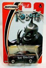 2004 Matchbox Robots Ratchet Purple Chevrolet Avalanche 1/64